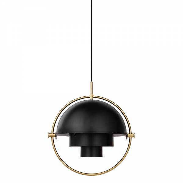 Multi-Lite Pendant - Black, Brass