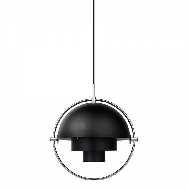Multi-Lite Pendant - Black, Chrome
