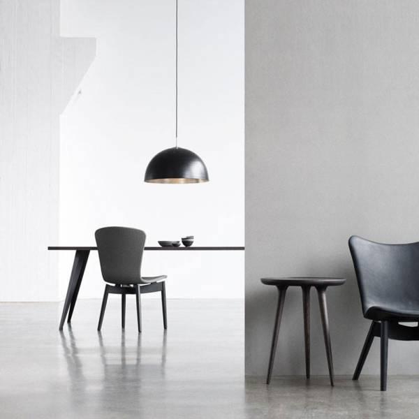 Shade Light Pendant - Black Aluminum, Large