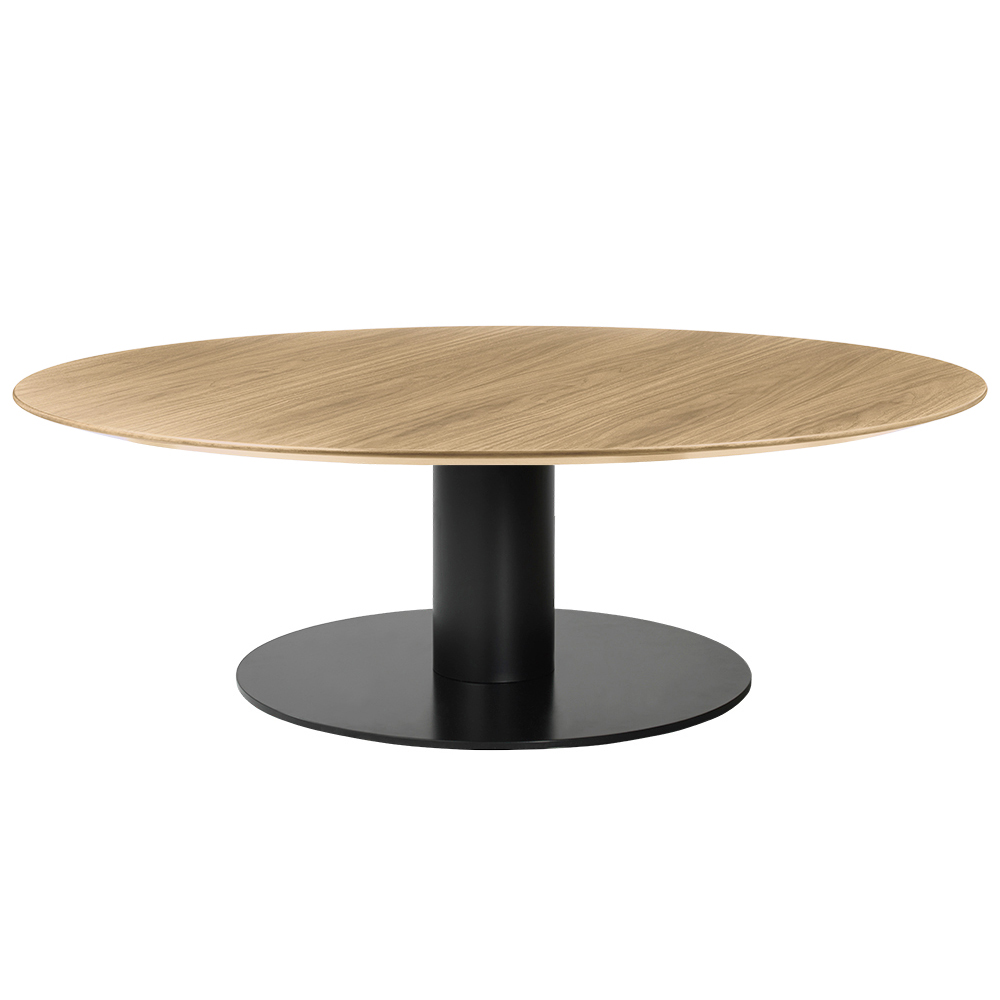 Black Oak Round Coffee Table: 2.0 Round Coffee Table