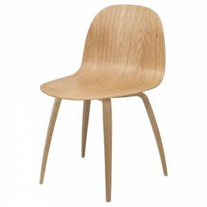2D Unupholstered Dining Chair - Oak