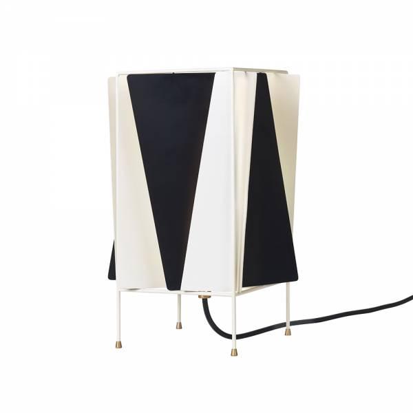 B-4 Table Lamp - Black, White