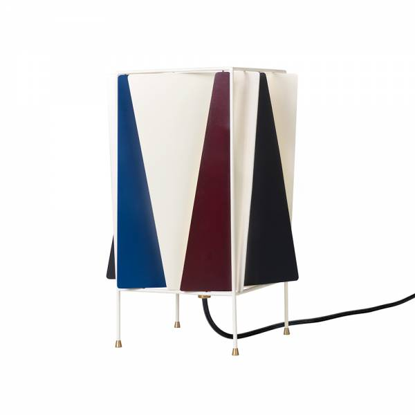 B-4 Table Lamp - Blue, Red, Black, White