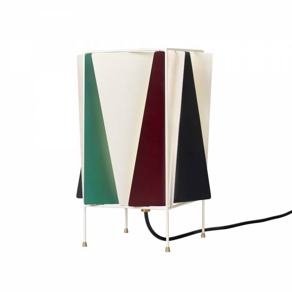 B-4 Table Lamp - Green, Red, Black, White