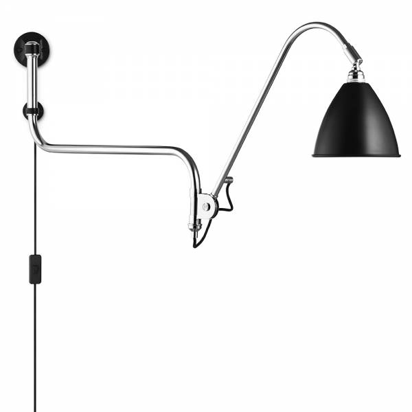 Bestlite Bl10 Wall Lamp - Black, Chrome