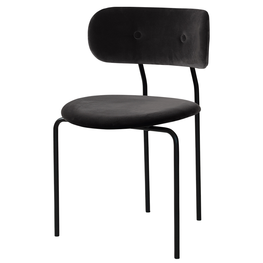 Coco Dining Chair Black Velvet Base