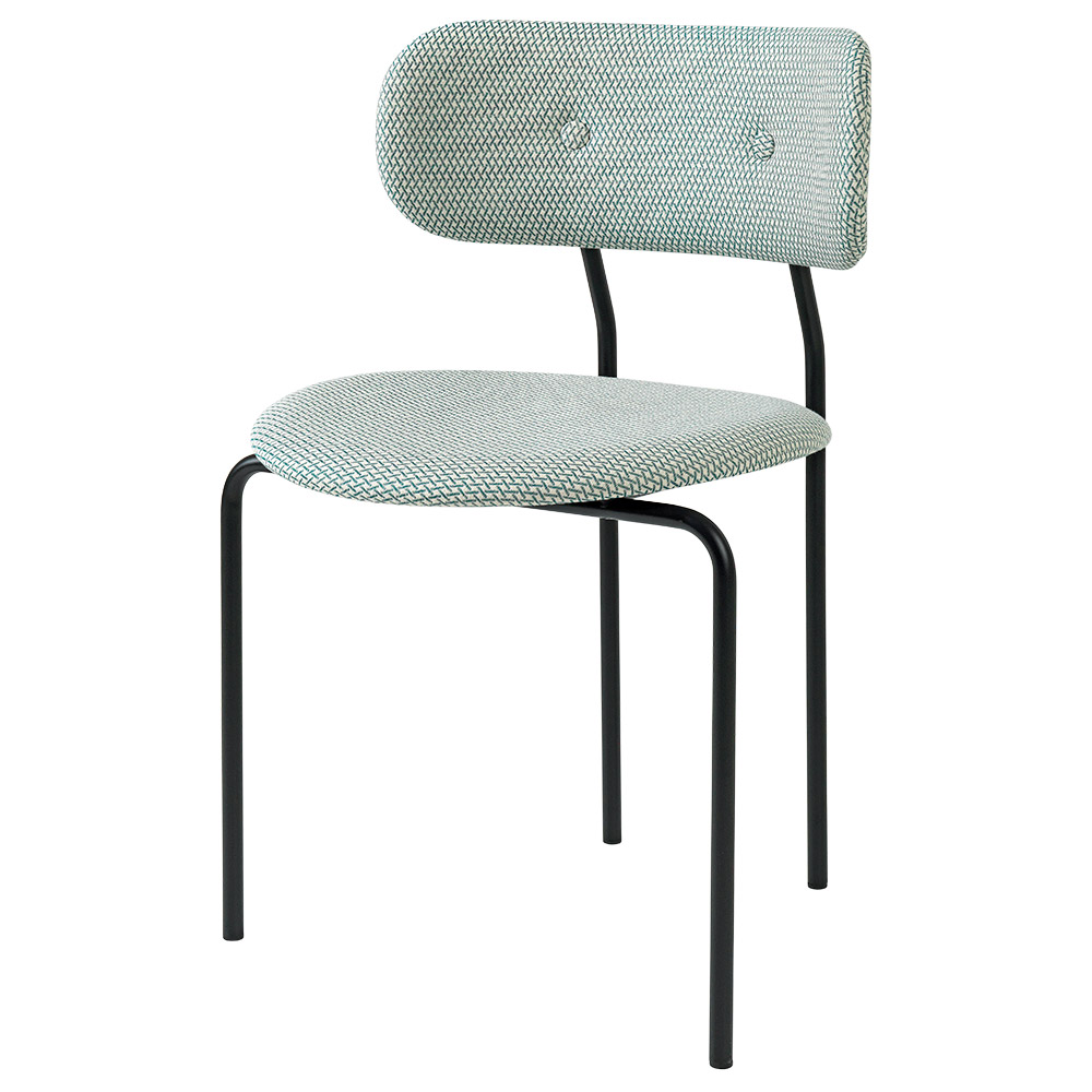 more photos 1b43f 808a5 Coco Dining Chair - Green, Black Base