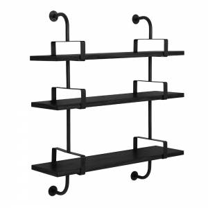 Demon 2x3 Shelf - Black Stained Ash
