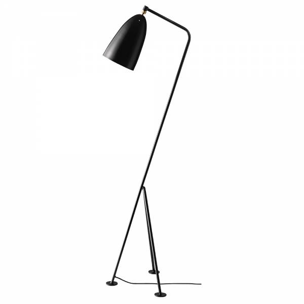 Grashoppa Floor Lamp - Jet-Black