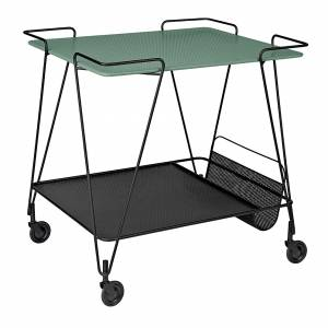 Mategot Trolley - Dusty Green