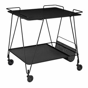 Mategot Trolley - Midnight Black