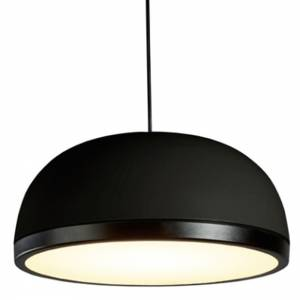 Molly Medium Pendant - Black, Black