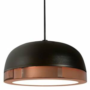 Molly Medium Pendant - Black, Copper