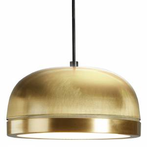 Molly Medium Pendant - Brass, Brass