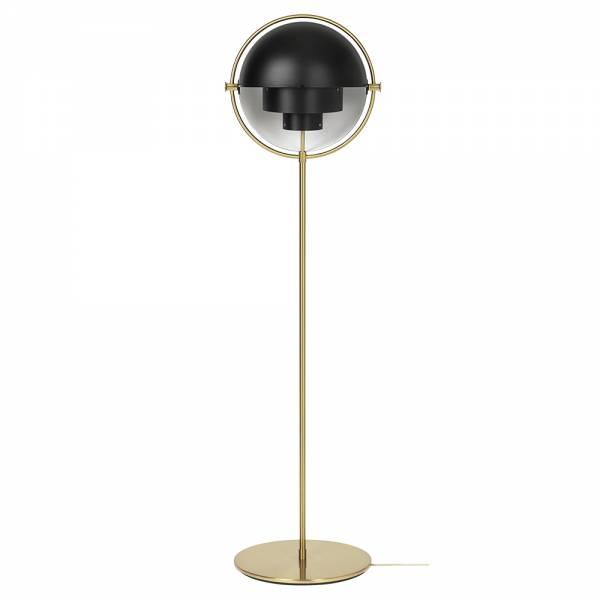Multi-Lite Floor Lamp - Black, Brass