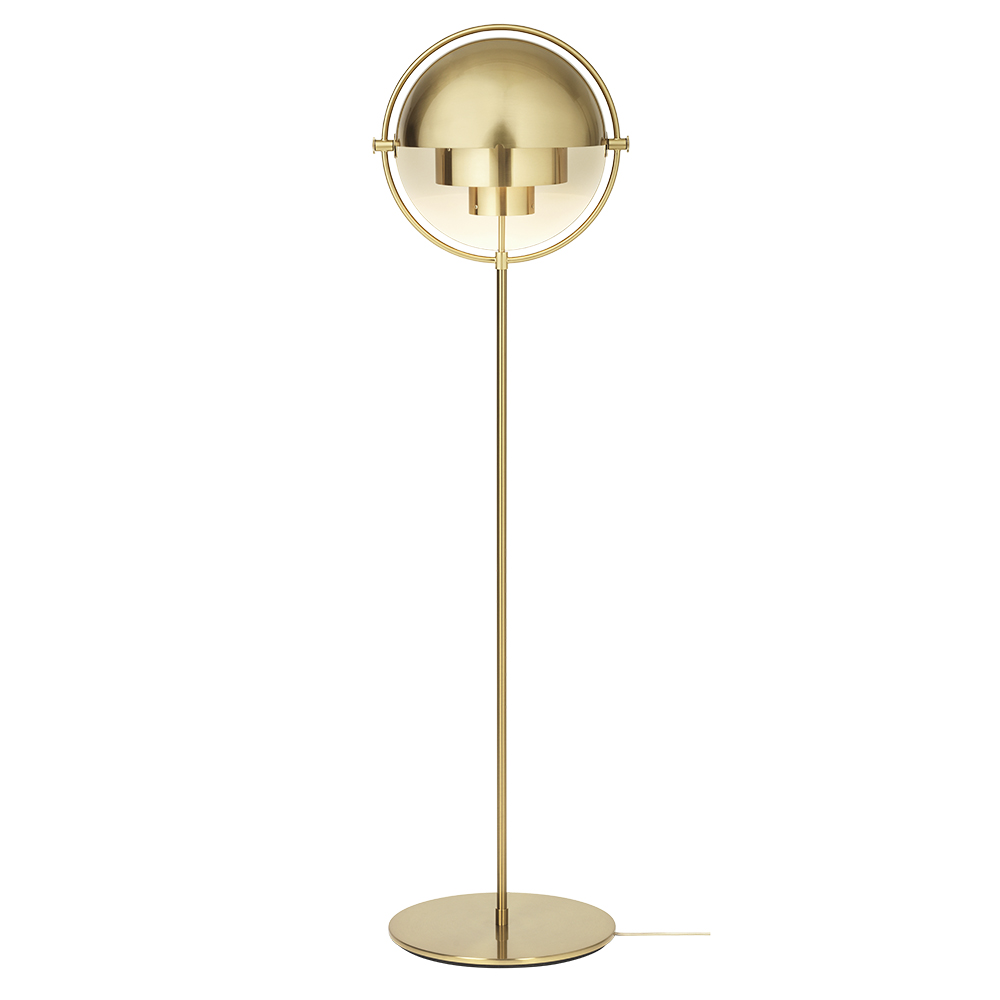 Multi Lite Floor Lamp Brass Brass Rouse Home