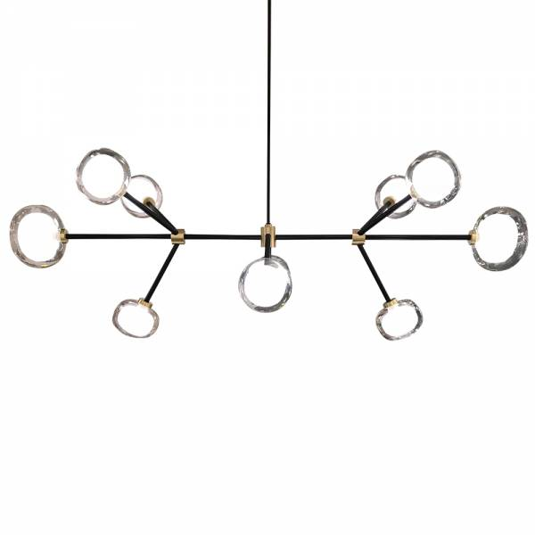 Nabila Rectangular Chandelier | Rouse Home