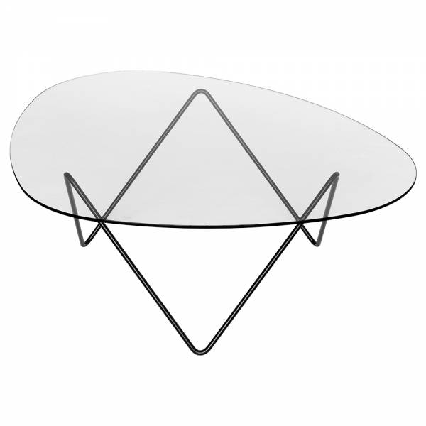 Pedrera Coffee Table - Black Base