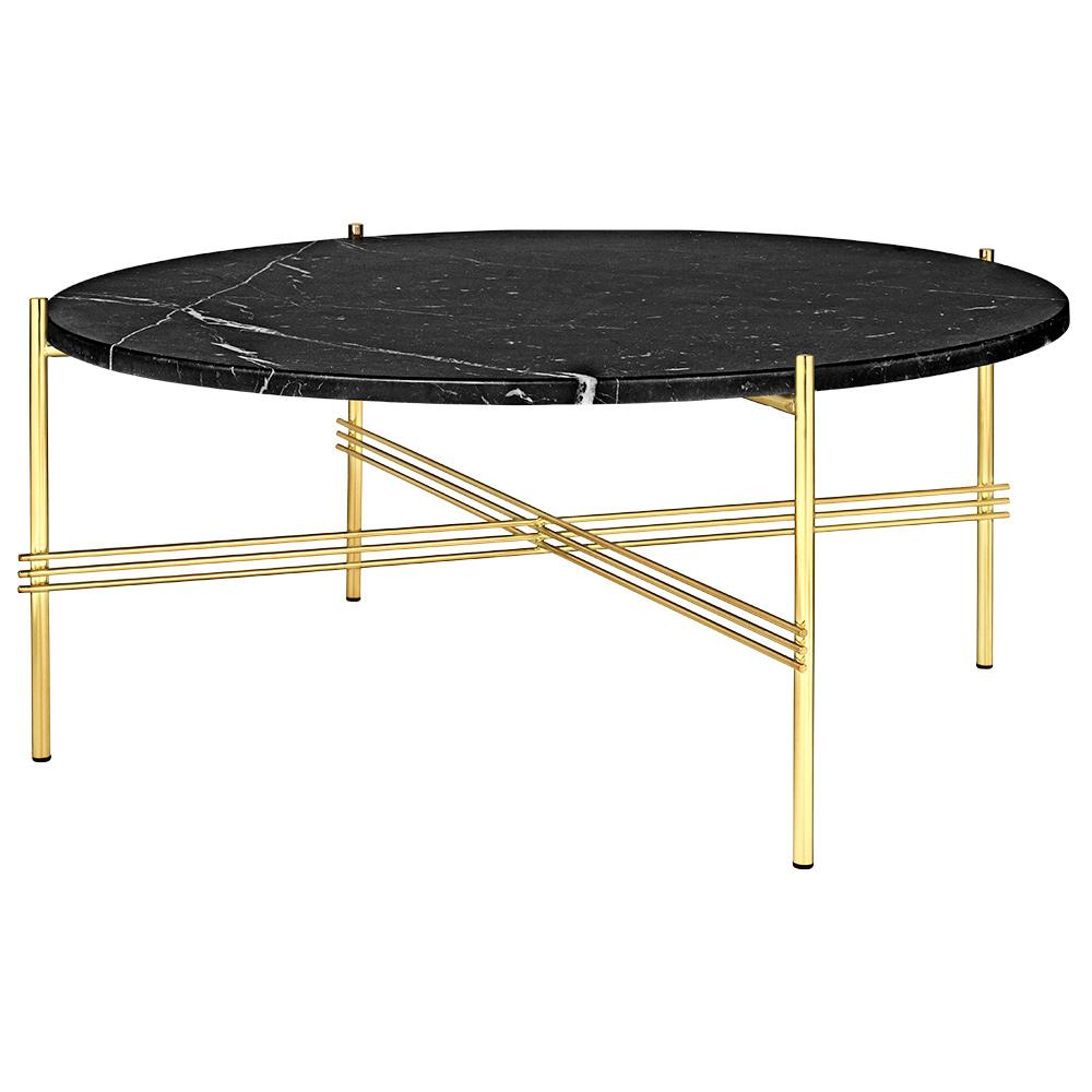 Black Coffee Table Curved: TS Round Coffee Table Medium