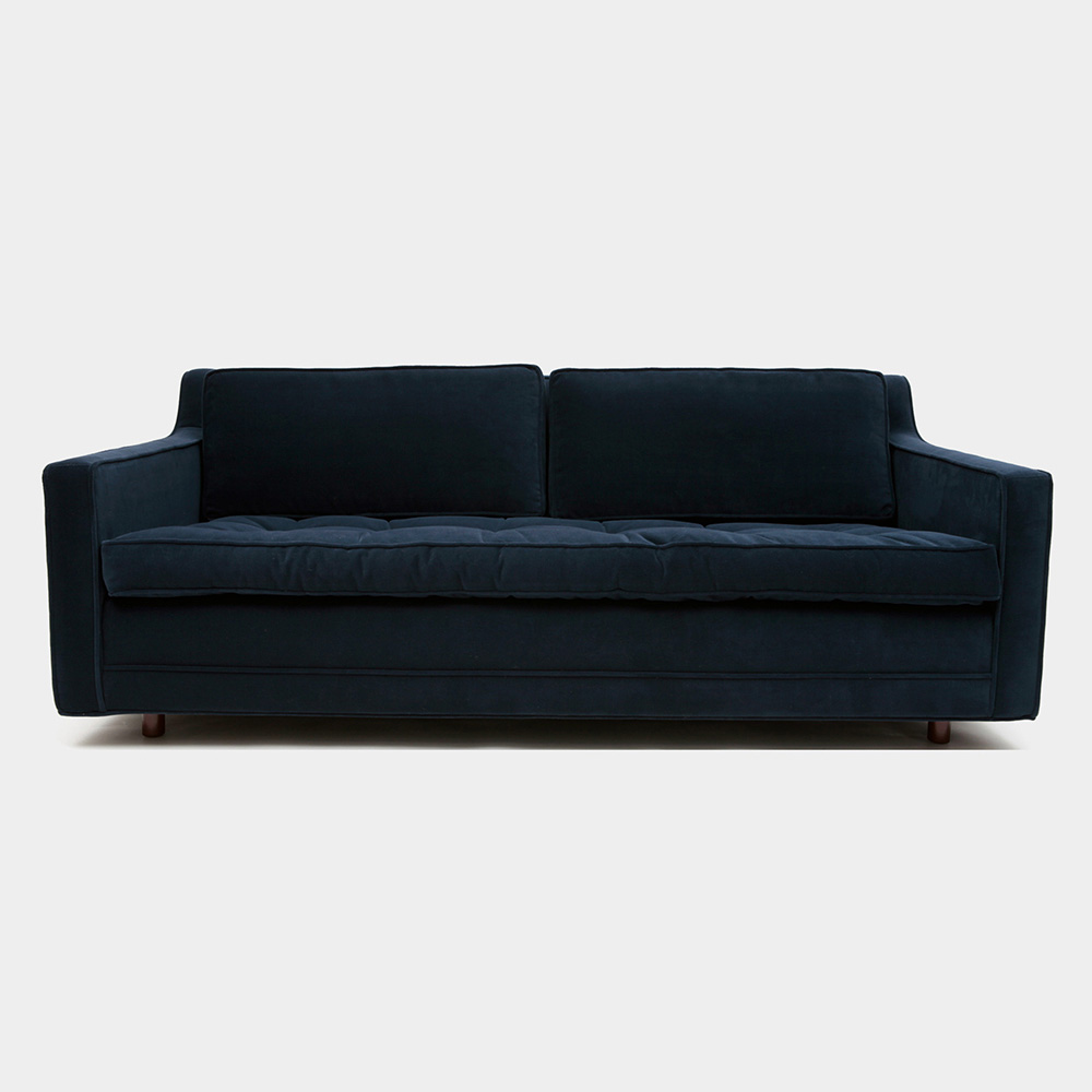 Up Two Seat Sofa Deep Blue