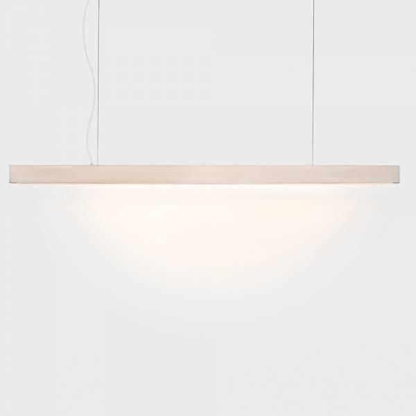 2x4 Medium Pendant - Whitewashed Pine, LED 2300K