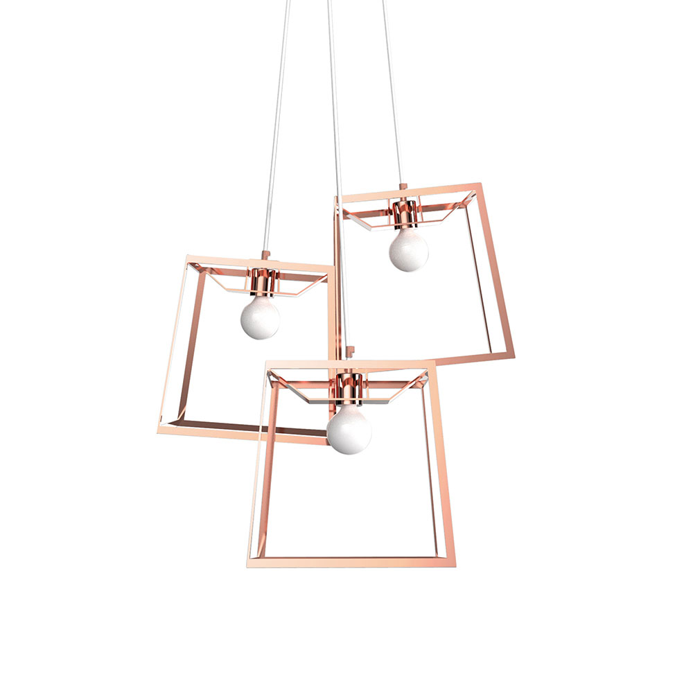 3 Piece Frame Cluster – Copper – Rouse Home