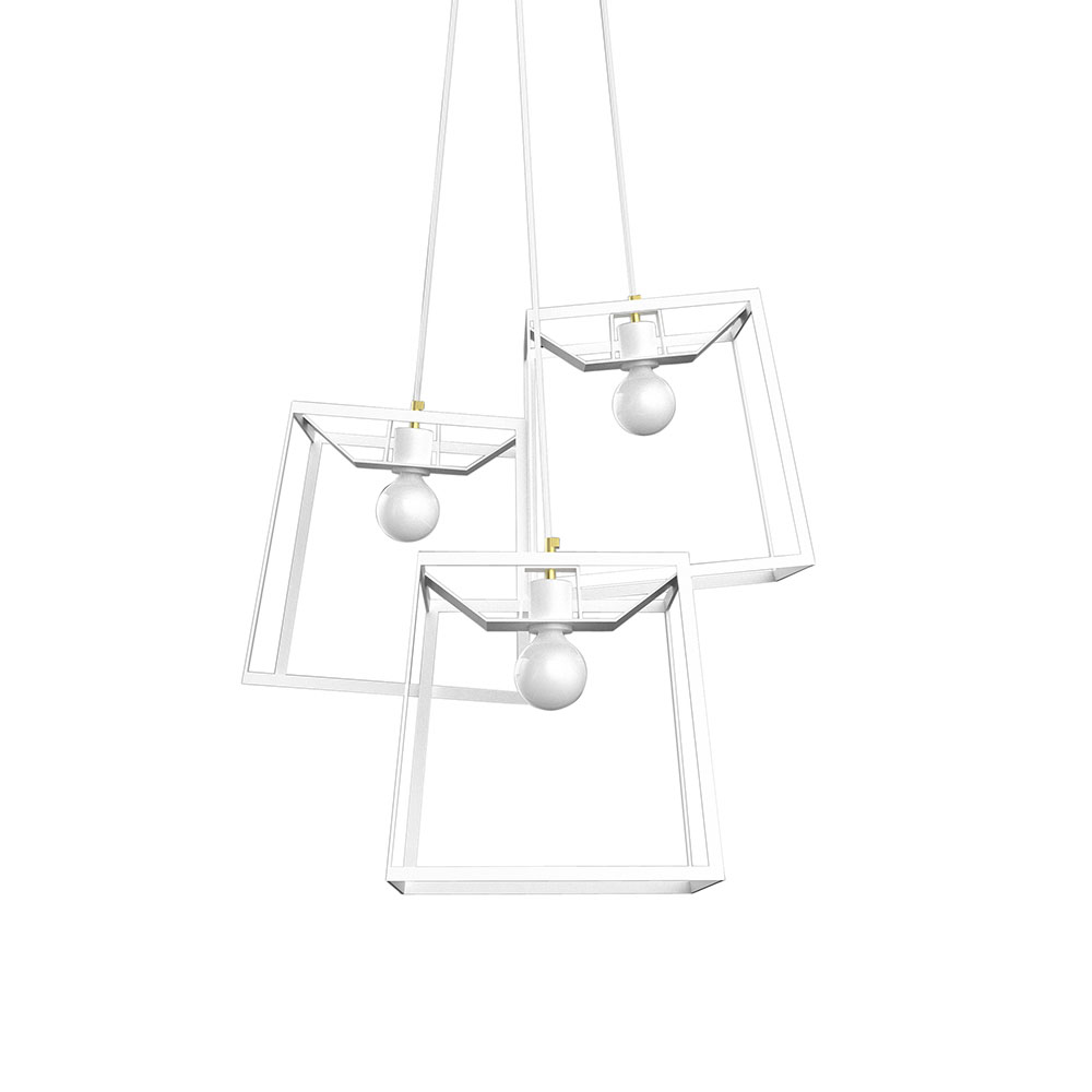 3 Piece Frame Cluster – White – Rouse Home