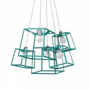5 Piece Frame Cluster - Blue