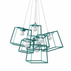 7 Piece Frame Cluster - Blue