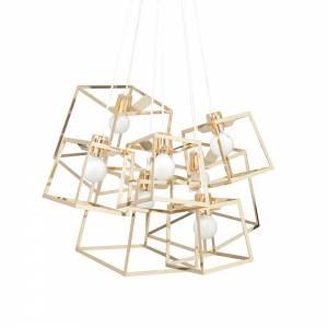 7 Piece Frame Cluster - Brass