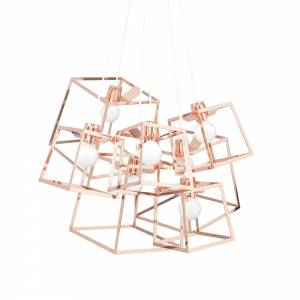 7 Piece Frame Cluster - Copper