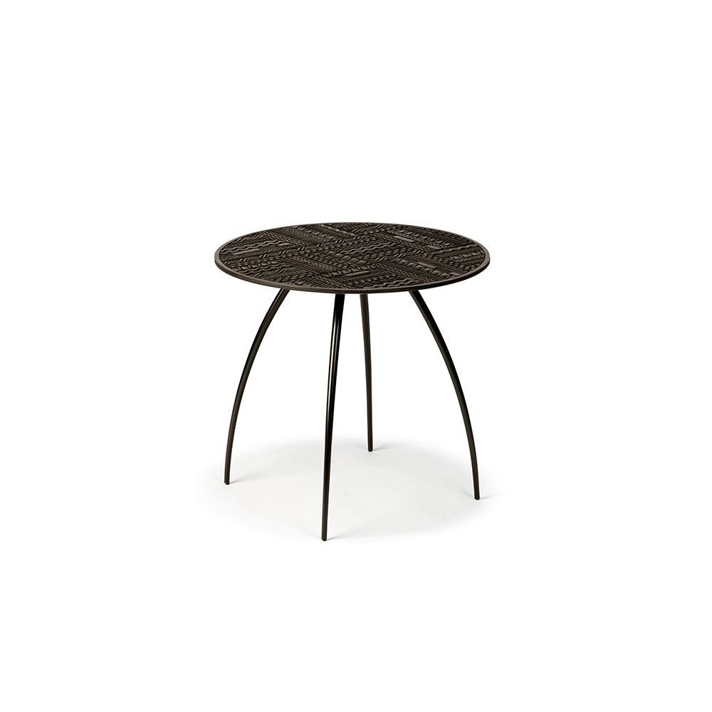 Extra Smalle Sidetable.Ancestors Tabwa Round Thin Side Table Extra Small
