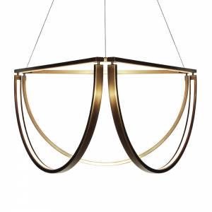 Chord Cluster Chandelier - Bronze, LED 2500K