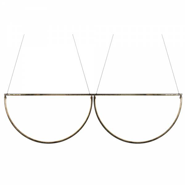 Chord Convoy Chandelier - Bronze, LED 2800K | Rouse Home