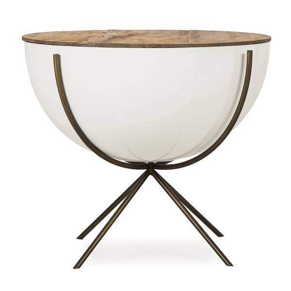 "Danica Side Table - 24"" Bowl"