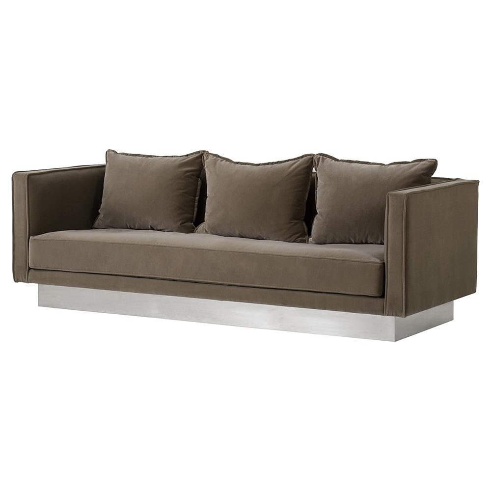 Cool Dylan Sofa Chocolate Inzonedesignstudio Interior Chair Design Inzonedesignstudiocom