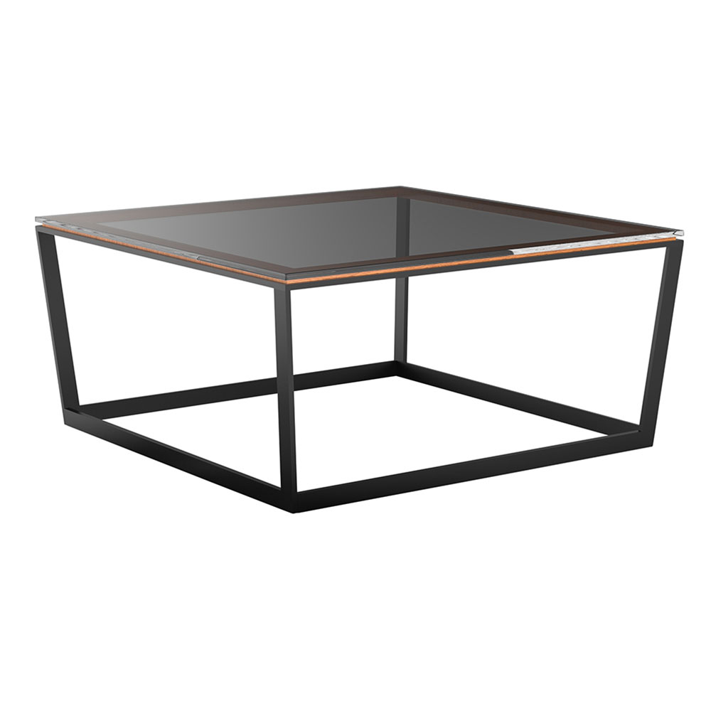 Square Coffee Table Grey: Frame Square Coffee Table