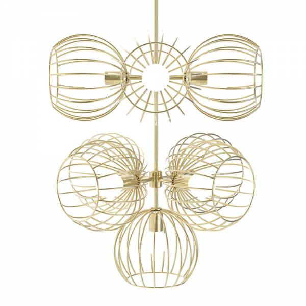 Revati 9 Piece - Gold | Rouse Home
