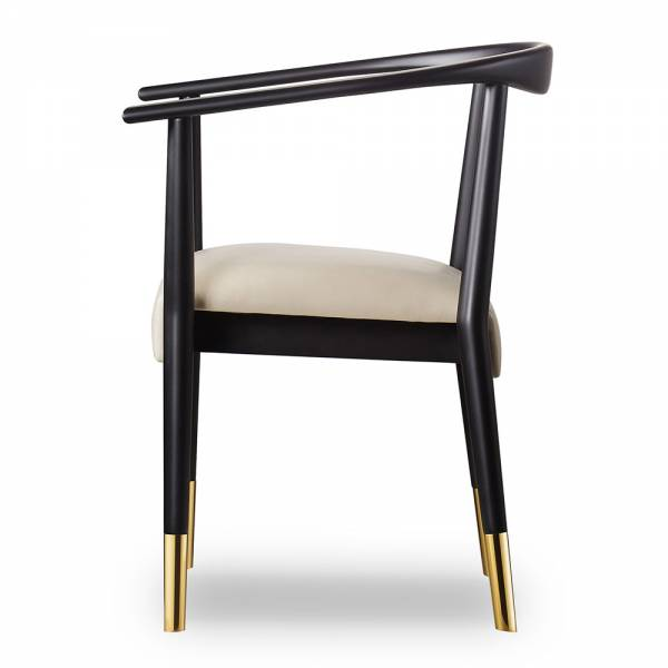 Soho Dining Chair - Matte Black