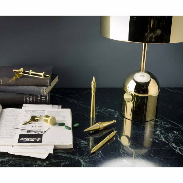Bell Table Lamp - Brass