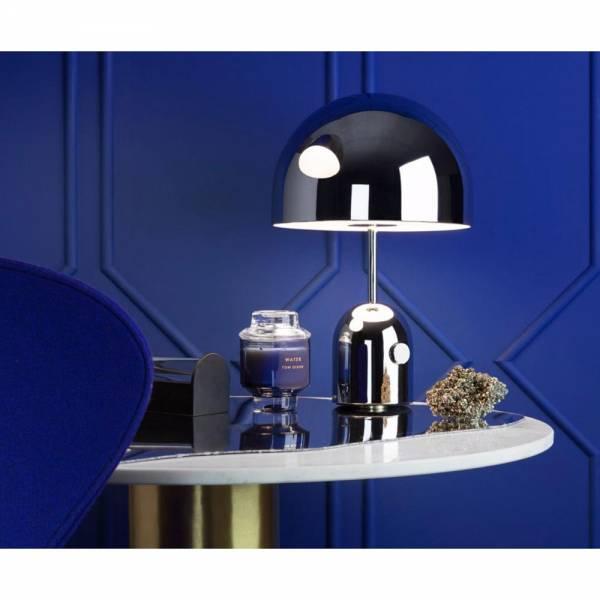 Bell Table Lamp - Chrome