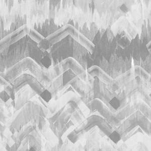 Brushed Herringbone Wallpaper - Gray