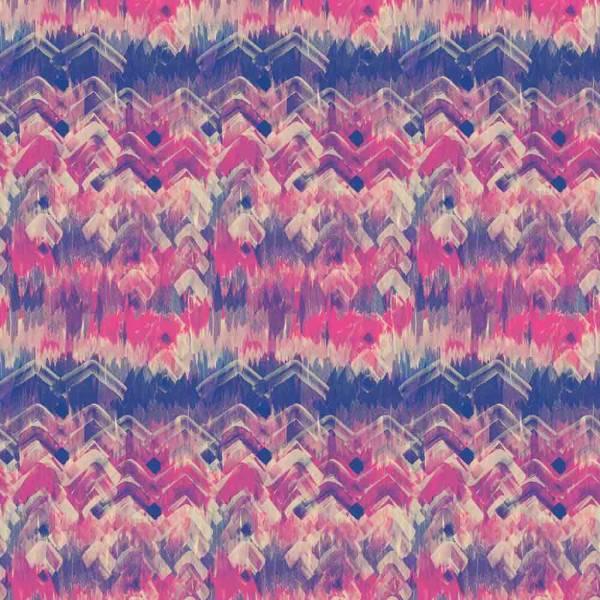 Brushed Herringbone Wallpaper - Pink