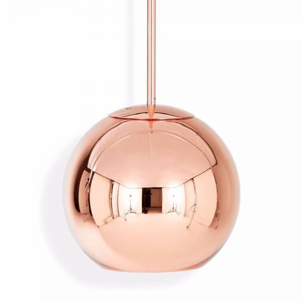 Copper Round Pendant - Copper