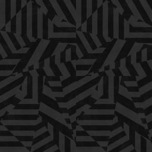 Dazzle Wallpaper - Charcoal