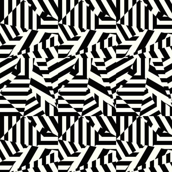 Dazzle Wallpaper - White