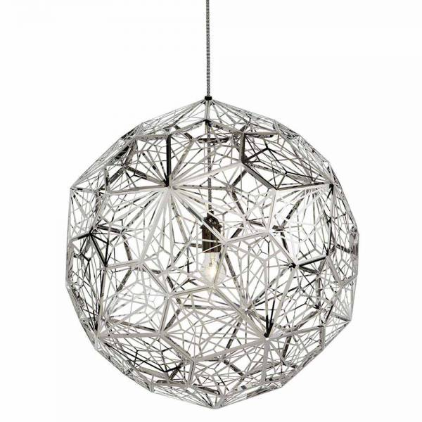 Etch Web Pendant - Steel | Rouse Home