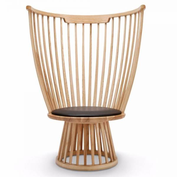 Fan Lounge Chair - Natural Ash