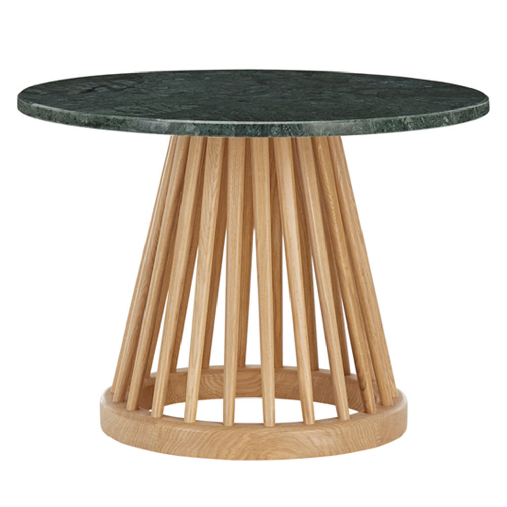 Coffee Table Bases For Marble Tops: Green Marble Top, Natural Base