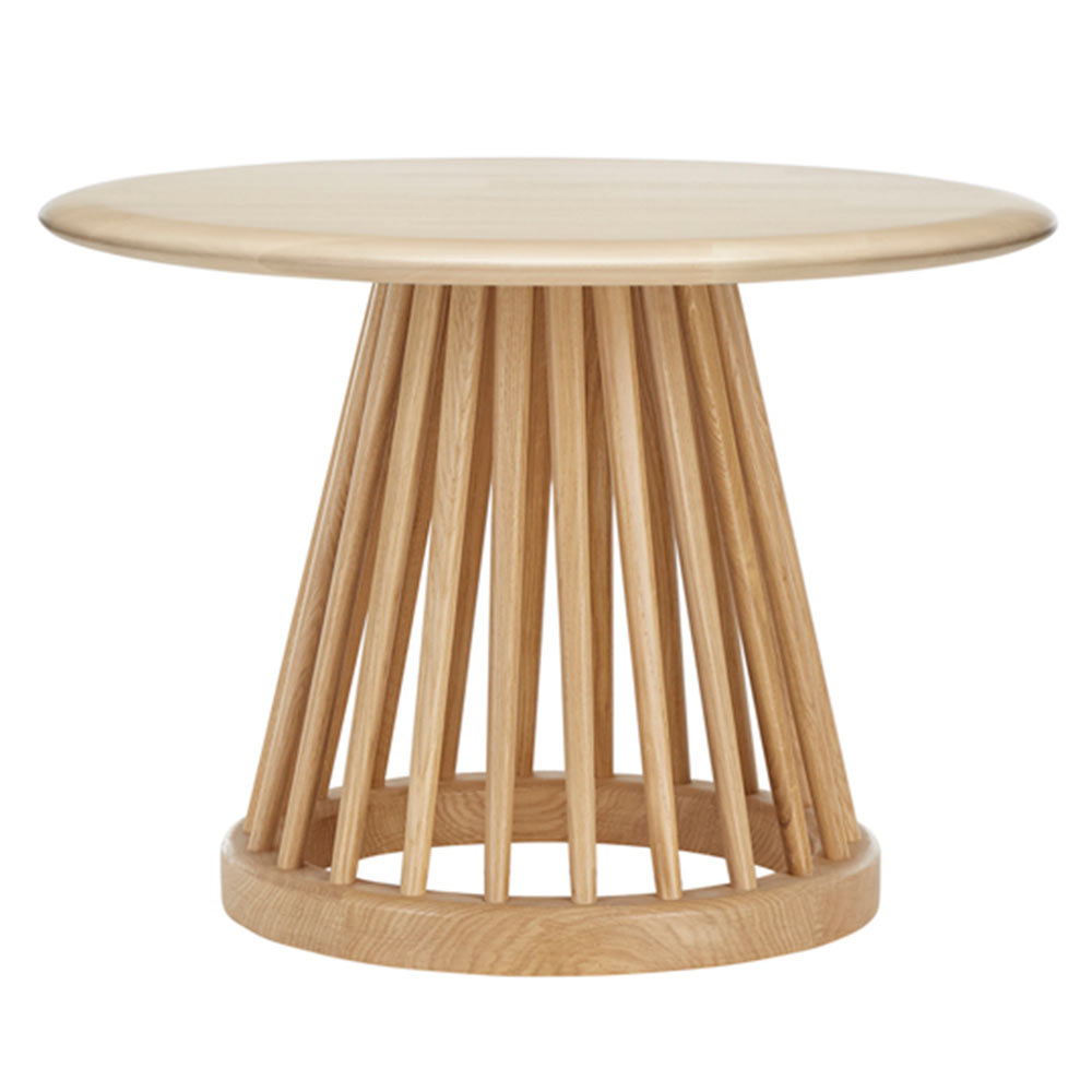 Small Coffee Tables For Home: Natural Birch Top, Natural Base